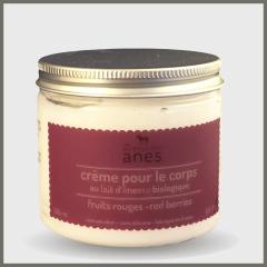 Crème corps fuits rouge 200ml